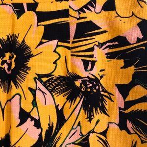 J. Crew Skirts - Sunflower Patterned Pencil Skirt